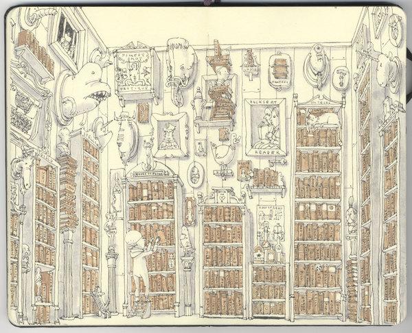 Ilustração de Matias Adolfsson