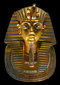 Máscara Mortuária do faraó Tutankhamon