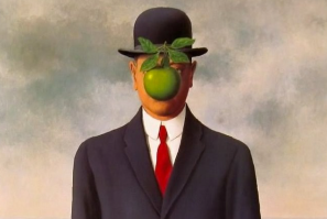 The Son of Man, 1946, by Rene Magritte